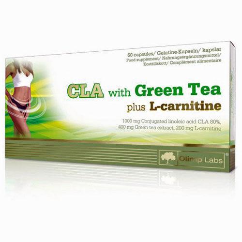 Olimp Sport Nutrition CLA Green Tea Plus L-Carnitine 60 kapszula