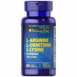L-ARGININE L-ORNITHINE L-LYSINE