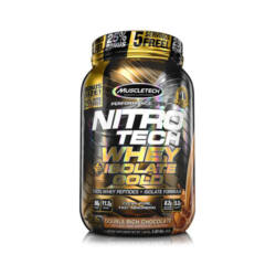 NITROTECH WHEY PLUS ISOLATE GOLD