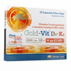 GOLD-VIT D3+K2 VITAMIN 30 KAPSZULA