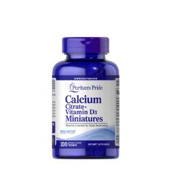 CALCIUM CITRATE + VITAMIN D3 MINIATURES