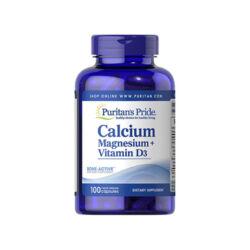 CALCIUM MAGNESIUM + VITAMIN D3