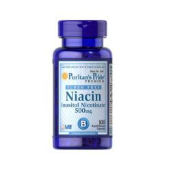 NIACIN 500 MG FLUSH FREE