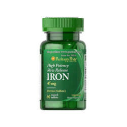 HIGH POTENCY SLOW RELEASE IRON