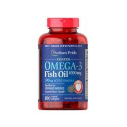 OMEGA-3 FISH OIL COATED 1000mg