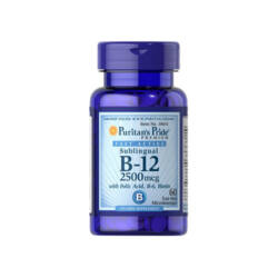 VITAMIN B-12 2500 mcg WITH FOLIC ACID