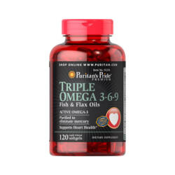 TRIPLE OMEGA 3-6-9 FISH & FLAX OILS