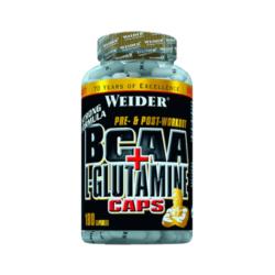 BCAA + L-Glutamine Caps